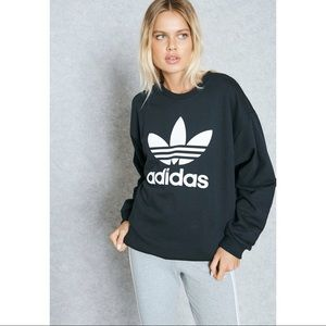 ADIDAS ORIGINALS Oversized Trefoil Sweatshirt M
